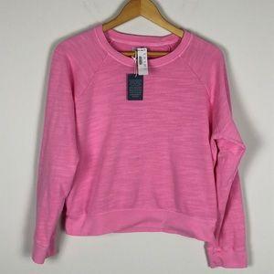 J Crew Vintage Fleece Crewneck Sweatshirt - Medium